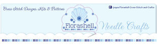Florashell Cross Stitch Design