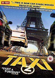 Taxi 2 (DVD, 2007)