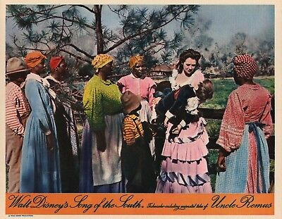 Disney's Song Of The South lobby card - vintage style repoduction print # 7