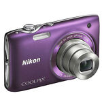 Nikon COOLPIX S3100 14.0 MP Digital Camera - Purple