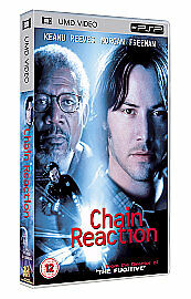 * SONY PSP FILM / DVD / Movie * Chain Reaction (UMD, 2005) PSP