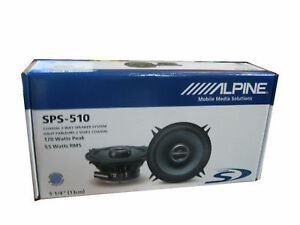Alpine SPS-510 2-Way 5.25in. Car Speaker -  Free Shipping!!