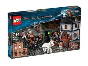 NEW Pirates of the Caribbean on Stranger Tides Lego The London Escape (4193)