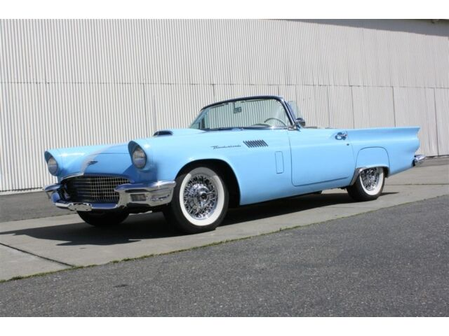 1957 Ford Thunderbird Roadster, Both Tops, Stunning!