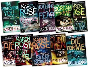 Karen-Rose-Collection-10-Books-Pack-Set-RRP-88-76