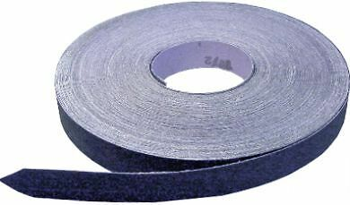 Emery Cloth Roll, Blue Twill, Coated Abrasive, 80 Grit, 25mm wide x 5m,