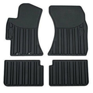 Subaru Forester 2009-2013 All Weather Black Rubber Floor Mat Set  - OEM NEW!