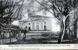 034-ROCCA-di-Papa-Antico-convento-dei-Passionisti-034-Viaggiata-Anno-1907