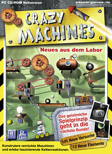 Crazy Machines: Neues aus dem Labor (PC, 2005, DVD-Box)