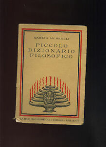 E-Morselli-PICCOLO-DIZIONARIO-FILOSOFICO-1938