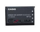 Casio Camera Batteries for Casio