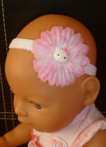 BABY-GIRLS-HEADBAND-hello-kitty-2-daisy-flower