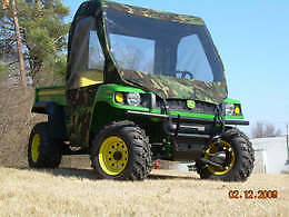 FULL-CAB-Enclosure-w-Vinyl-Windshield-John-Deere-GATOR-New-6-Colors