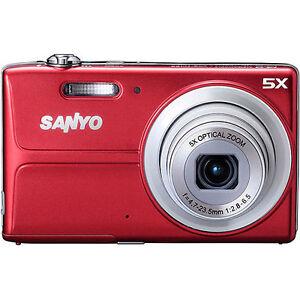 Sanyo-VPC-T1496-14-0-MP-Digital-Camera-Red