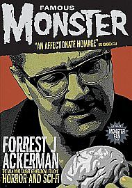 Famous Monster - Forrest J. Ackerman (DVD, 2009)