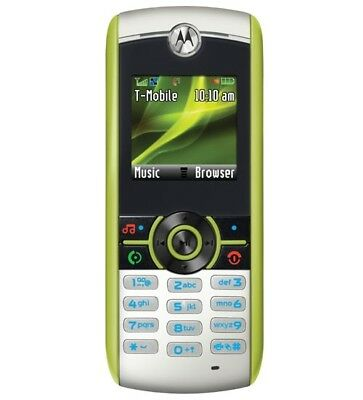 Motorola MOTO W233 renew - Green (T-Mobile) Cellular Phone