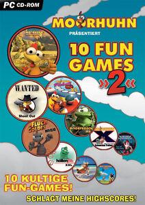 Moorhuhn: 10 Fun Games 2 (PC, 2006, DVD-Box)