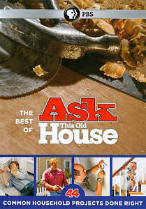 Best of Ask This Old House: 44 Common Household New DVD! Ships Fast!