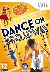 DANCE ON BROADWAY - Nintendo Wii Game (Brand New & Sealed) Free P&P