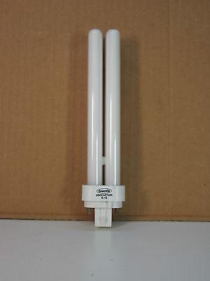 Lot Of 4 Greenlite 26w Compact Fluorescent Light Bulbs 2700k G24q-3