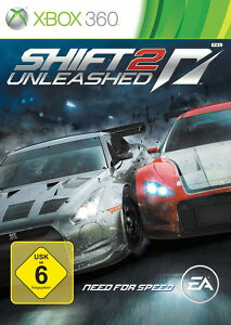 ★XBOX 360★SPIEL NFS NEED FOR SPEED SHIFT 2 UNLEASHED GETESTET SEHR GUT 649 !