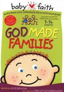 God Made Families DVD Baby Faith Ages 0-24 Months Hymns & Bible Stories 936416