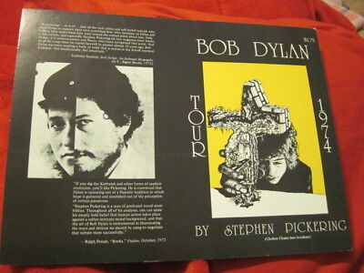 BOB DYLAN TOUR 74 STEPHEN PICKERING PRE-PRODUCTION FLAT mint
