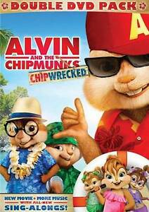 alvin and the chipmunks chipwrecked dvd 2012 2 disc set ebay