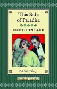 This Side of Paradise by F. Scott Fitzgerald (Hardback, 2012)