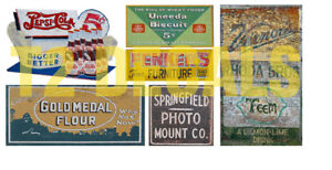 HO-Scale-Ghost-Sign-Decals-24-Great-for-Weathering-Structures