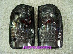 GENUINE DEPO LED TAIL LIGHT REAR LAMP TOYOTA HILUX MK4 MK5 SMOKE LEN 1998 - 2004