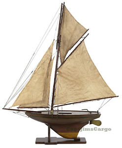 Victorian-Pond-Yacht-37-Model-Wooden-Sailboat-Authentic-Models-Boat