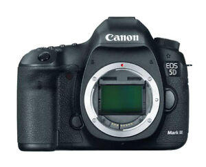 Canon EOS 5D Mark III 22.3 Megapixels Digital Camera -...