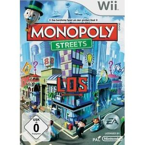 Monopoly Streets Nintendo Wii 2010 PAL Sealed MINT