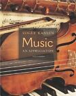 Music: An Appreciation by Roger Kamien (2004, Hardcover, Illustrated) : Roger Kamien (Hardcover, 2004)