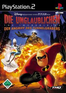 SONY PS2 Die Unglaublichen - The Incredibles: Der Angriff des Tunnelgräbers OVP