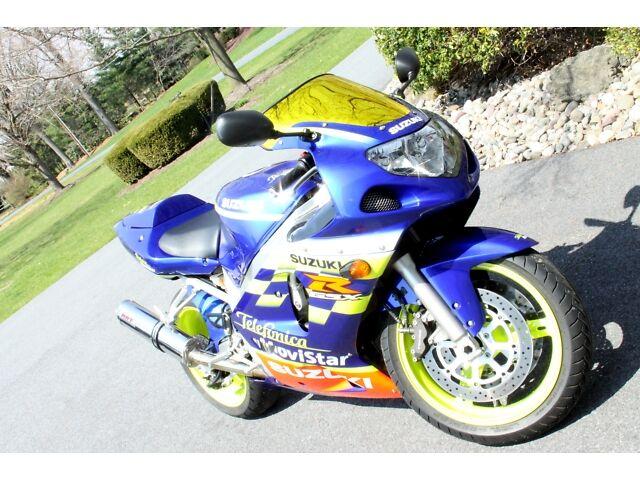 2002 Suzuki GSXR 600 Telefonica MoviStar LimitedEdition