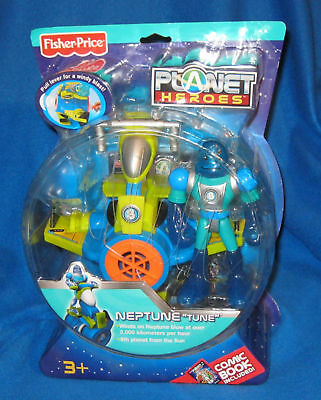 FISHER PRICE PLANET HEROES NEPTUNE TUNE NEW L3769