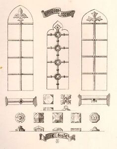 A-Pugins-Litho-Iron-Brass-Design-1835-WINDOW-IRON