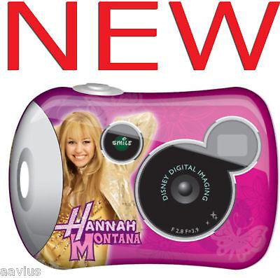 Disney Pix Kids Micro Digital Photo Camera Hannah Montana...