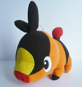 Pokemon-Soft-Plush-toy-LARGE-Tepig-New-tagged-Genuine