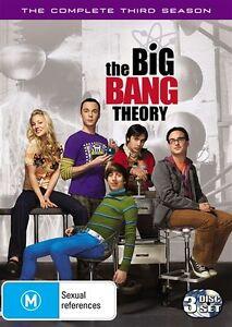 The Big Bang Theory : Season 3 (DVD, 2010, 3-Disc Set) NEW & SEALED