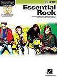 INSTRUMENTAL PLAY ALONG ESSENTIAL ROCK FLT BK/CD, Various, New Book