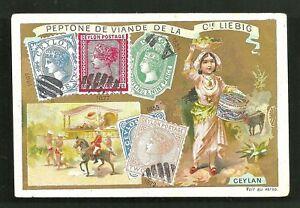 Ceylon-Girl-Costume-stamps-1897