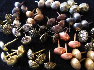 Upholstery-nails-Furniture-chair-tacks-pins-studs-supplies-DIY-dome-nail