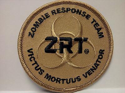 Zombie Response Team Tan/Black Patch