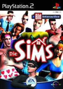 Play Station 2 Spiel PS2 DIE SIMS mit Anleitung guter Zustand + OVP