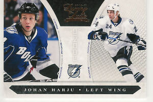2010-11-PANINI-LUXURY-SUITE-JOHAN-HARJU-RC-222-899-TAMPA-BAY-LIGHTNING