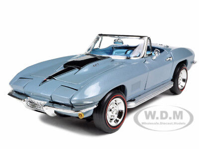 1967 Chevrolet Corvette L88 Blue 1:18 Diecast Model Car By Autoworld Amm952