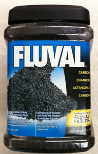 Fluval Activated carbon 900g FREE FILTER BAG. BIG VALUE
